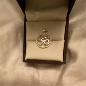 ⚡️Sterling silver 'OMG pendant